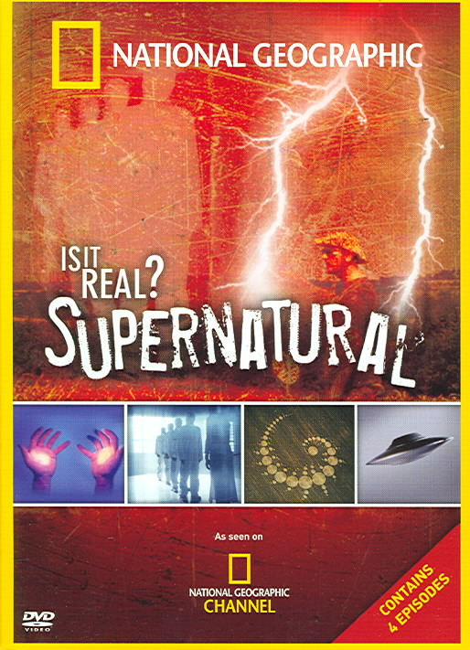 IS IT REAL SUPERNATURAL (DVD)