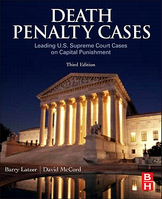 Death Penalty Cases By Latzer, Barry/ McCord, David
